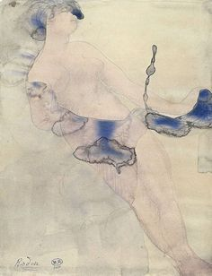 Rodins most erotic watercolour