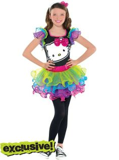 girls hello kitty halloween costume halloween festive pinterest hello kitty halloween costume hello kitty halloween and halloween costumes - Halloween Hello Kitty Costume
