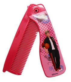 Small Pink High School Musical Troy Folding Hair Comb >>> You can find more details by visiting the image link.