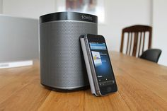 "Play:1 Wireless Speakers From Sonos / Sonos calls its Play:1 Wireless Speakers ""mini but mighty."" That's a perfect description for this small and compact wireless speaker which produces amazingly clear and rich HiFi sound from any device and music service you use. http://thegadgetflow.com/portfolio/play1-wireless-speakers-sonos/"
