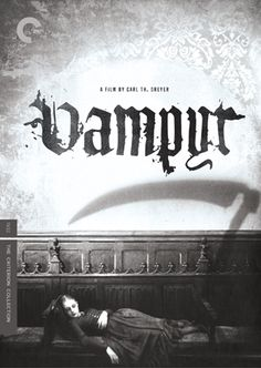 Vampyr  The Germans made such fantastic horror films in the 20's and 30's.  This one is particularly creepy with it's misty atmosphere and dream-like imagery.
