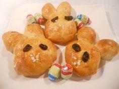 Süße Osterhasen - Rezept   GuteKueche.at Austrian Recipes, Doughnut, Rum, Muffin, Breakfast, Food, Basket, Cat Supplies, Muffins