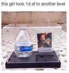 The Water Bottle Shrine Fan: