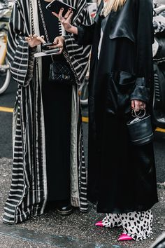 Long duster coats street style
