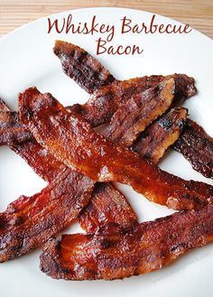 Whiskey Barbecue Bacon