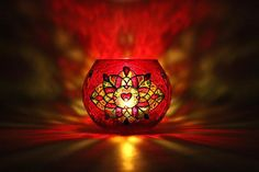 Items similar to Red Mosaic Candle Holder St.Valentine Gift Candleholder Glass Tealight Holder Glass Votive Candle Holder Christmas Gift Wedding Decor on Etsy Glass Votive Candle Holders, Glass Tea Light Holders, Votive Candles, Handmade Market, Etsy Handmade, Stained Glass Paint, Vase, Romantic Gifts, Bridal Shower Games