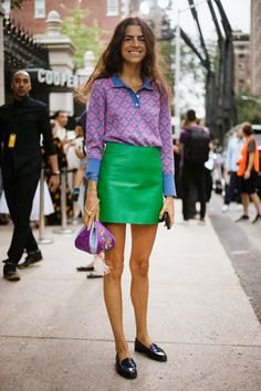 The Best Of New York Fashion Week Street Style featuring Leandra Medine