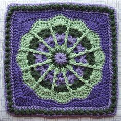 Ravelry: Fantastic! Afghan Square pattern by Julie Yeager
