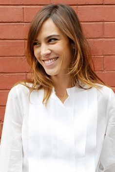 Tousled bobs, ombre waves and choppy bobs - see Alexa Chung's hair history