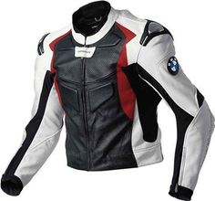 Mens Multicolor BMW Motorcycle Racing Biker Leather Jacket Size Available White Motorcycle, Motorcycle Leather, Biker Leather, Leather Men, Leather Jackets, Motorcycle Fashion, Cowhide Leather, Real Leather, Motorbike Jackets