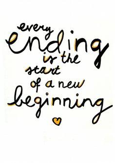 start of a new beginning || stuur een echt nieuwjaarskaartje! || Made by www.miekinvorm.nl