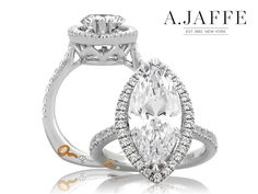 A. Jaffe engagement rings at Razny Jewelers