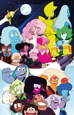 Steven universe - We are. by AlexDTI on DeviantArt Steven Universe Diamond, Steven Universe Leon, Steven Universe Fan Fusions, Steven Universe Theories, Steven Universe Characters, Steven Universe Funny, Universe Art, Steven Universe Wallpaper, Steven Universe Background