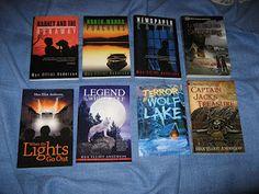 Adventure books for boys.