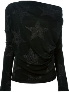 Vivienne Westwood Anglomania glitter star top on shopstyle.com