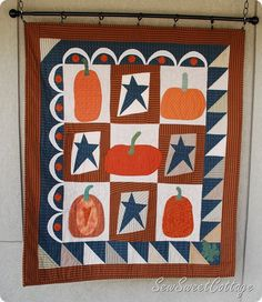 Whimsical fall quilt