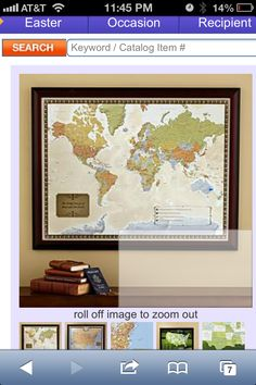 Personal Creations #Gifts  #Personalizedgifts Travel map  http://gifts.personalcreations.com/gifts/travel-destination-maps-30019395 - Great Personalized Gifts via- http://www.AmericasMall.com/personalcreations-gifts