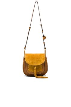 Small Suede Patchwork Hudson Bag