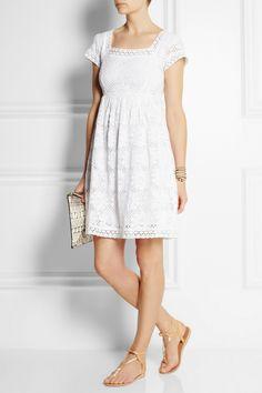 Collette by Collette Dinnigan|Cotton-blend lace dress|NET-A-PORTER.COM