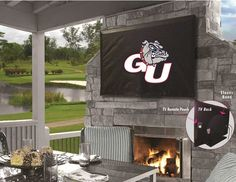 Use the Exclusive coupon code PINFIVE to receive an additional 5% off the Gonzaga University Bulldogs TV Cover