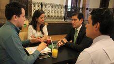 El coordinador del PVEM en el Congreso del Estado presentó al pleno una iniciativa para que jóvenes parlamentarios puedan extender su participación y se dé seguimiento a sus propuestas sobre ...