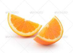 orange slice isolated on nwhite background ...  breakfast, citrus, color, dessert, diet, eat, exotic, food, fresh, fruit, half, health, isolated, juicy, natural, one, orange, reflection, refreshing, ripe, round, slice, sliced, succulent, summer, sweet, taste, tasty, tropical, vegetarian, vitamin, yellow