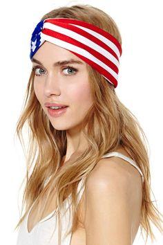 Gold Saturn Flag Rally Turband - Hair + Hats | Back In Stock at Nasty Gal #nastygal @nastygal
