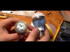 Про светодиодные лампочки 2014г на 9 ватт , и 12 ватт. - YouTube