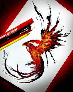 "16 To se mi líbí, 1 komentářů – Leonardo Ruiz Ríos (@leonardo_r2) na Instagramu: ""17-01-2016 Fénix #art #art #dibujo #dibujotradicional #drawing #draw #fénix #phoenix"""
