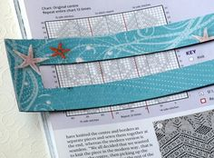 Knitting pattern chart marker