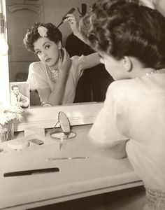 'Getting Dolled Up' ♥ 1940's All For Mary - Redefining the salon experience www.allformary.com