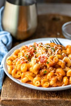 Instant Pot Italian Mac and Cheese - Cook Dinner Tonight - Recipes Easy Italian Mac And Cheese Recipe, Pasta Recipes, Dinner Recipes, Fall Recipes, Healthy Recipes, Instant Pot Pasta Recipe, Quick Weeknight Dinners, Budget Dinners, Cheap Dinners