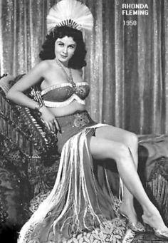 8eedcf2f4 Rhonda Fleming - 1950 in   Little Egypt  . Rhonda Fleming