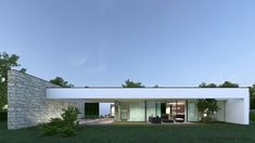 ...my proposal, proportions and horizontal lines are leading idea of this villa