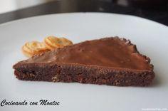 Receta de Tarta crujiente de galletas y chocolate