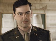 Ron Livingston as Lieutenant (eventually Captain) Lewis Nixon, Major Winters' best friend and frequent confidant during the series. For most of the series, he was dreading a divorce with his wife back home and was struggling with alcoholism.