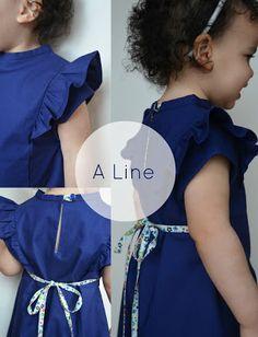 321aa75c22f5 Ruffle Top Pattern Now Available Costura De Vestidos Femininos, Vestidos De  Bebezinhas, Confecção De