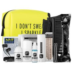 Shop Pinch Provisions's Fitness Kit - I Don't Sweat, I Sparkle at Sephora.