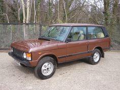 Range Rover Clic 2 Door Lhd 1984