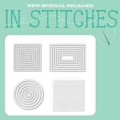 We are IN STITCHES Over This Fabulous New Release at Simon Says Stamp!