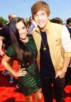Becky G And Austin Mahone, they look so cute together!!! becstin!