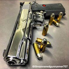 Colt Delta Elite Gold Cup 10mm Pistol. High polish work