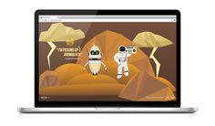 Nasa Prospect: Mars designed by Amy Gehling. University Of South Dakota, Find Work, Design Competitions, Nasa, Web Design, Mercury, Illustration, Student, Illustrations