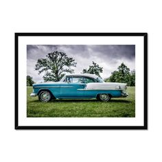 Chevrolet Bel Air Framed & Mounted Print – Trigger Image Buy Prints, Prints For Sale, Chevrolet Bel Air, Us Images, Fine Art Paper, Satin Finish, Clean Lines, Window, Surface