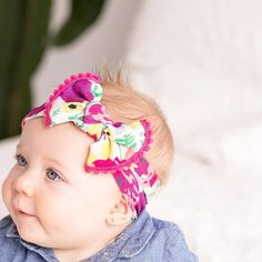 Do you love dressing your cutie in all the cutest headbands? Come check out three new Baby Bling knot headbands!