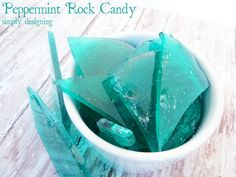 Disney FROZEN Ice Inspired Peppermint Rock Candy + Christmas Gift Idea for a Girl #FrozenFun #shop #cbias - Simply Designing