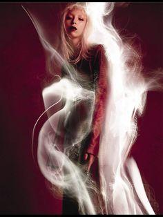 Vogue Italia March 2015 In the Dream Red Mood Photographer: Sølve Sundsbø Model: Issa Lish
