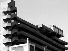 Brutalism::Forgotten Cafe by mkIndustrial  #architecture #brutalism Pinned by www.modlar.com