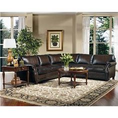 Sectional Sofas Bradley Leather Sectional by Bernhardt Knoxville Wholesale Furniture Sofa Sectional Knoxville Tennessee