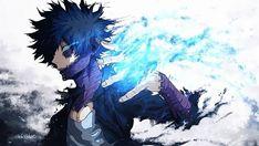 HD wallpaper: black hair anime wallpaper, My Hero Academia, Blue Eyes, Boku no Hero Academia